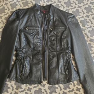 New Look Faux Leather Jacket M. Excellent